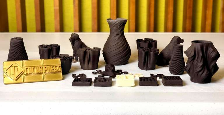 Chocolate On Demand: the First Commercial 3D Chocolate Printer