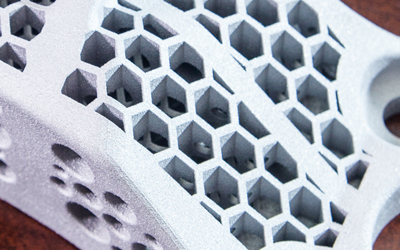 Complex Geometries with 3D Printed Aluminum