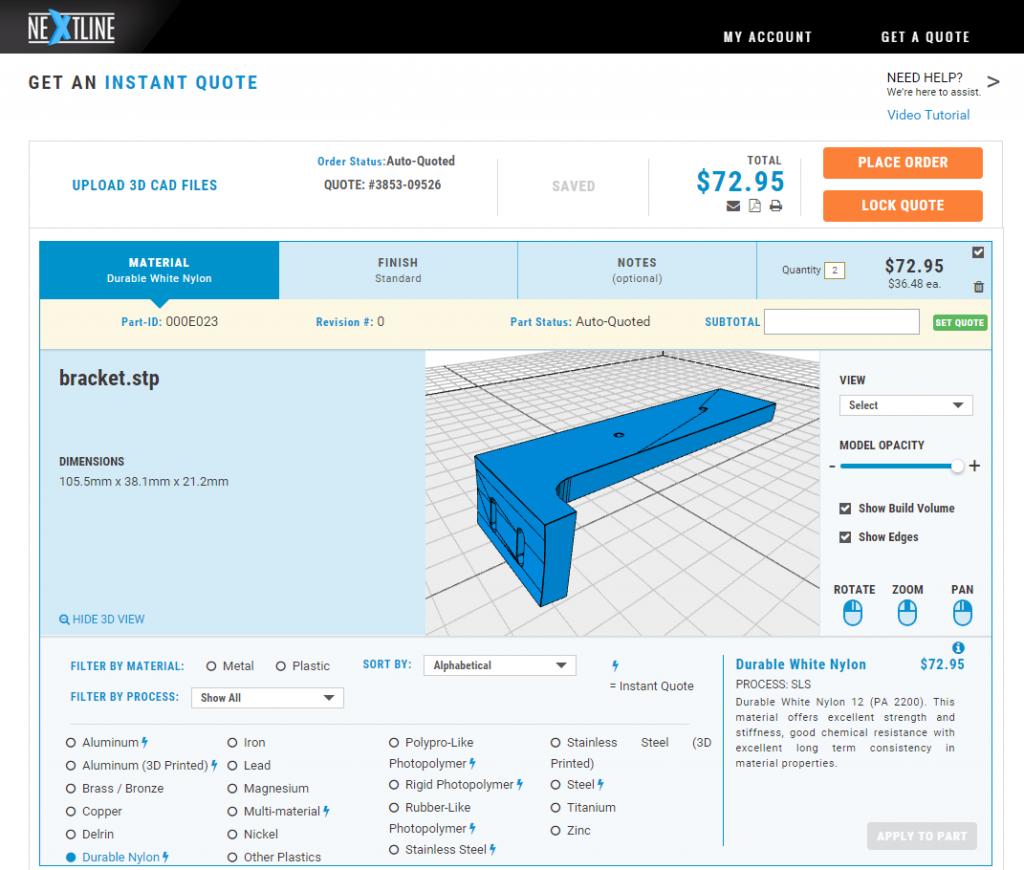 NextLine-3D Printing-Cost-per-Part