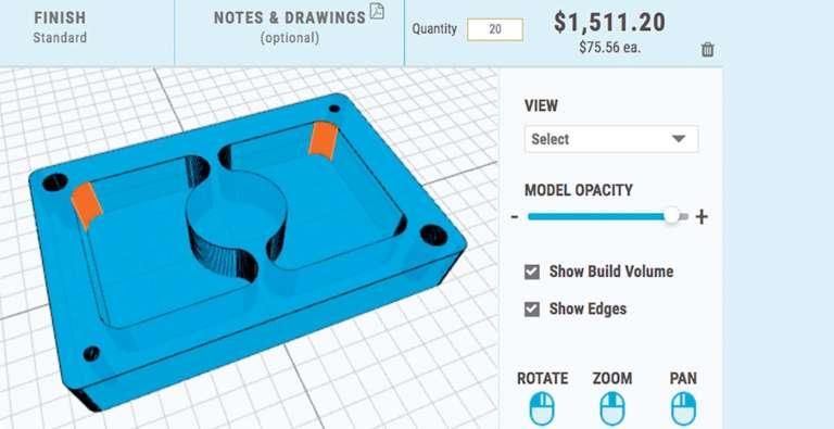 CNC Machining Design Tip: Optimizing Internal Corner Radii