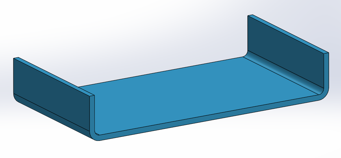 Correct bend orientation