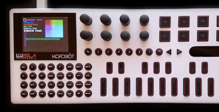 How an Inventor Crowdfunded $220,000 for His 'KordBot' Instrument