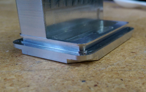 CNC Machined undercut