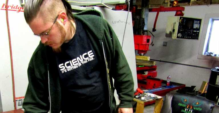 How a former Air Force mechanic built a thriving machining business in less than a year