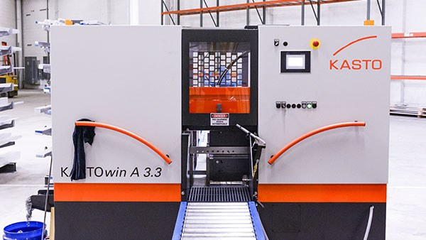 KASTOwin A 3.3 machine in the Xometry Supplies facility